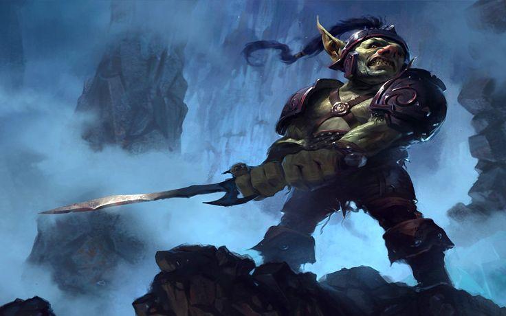 Download 2560x1600 World of warcraft fantasy art goblins warriors ...