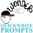 WONDER Palacio R.J. Novel Journal - Quickwrite Writing Prompts - PowerPoint  NOVEL = Wonder by R.J. Palacio LEVEL = 5-12 COMMON CORE = CCSS.ELA-Lit...