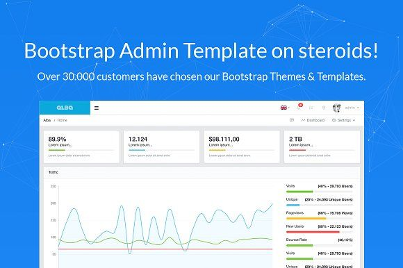 Alba Bootstrap Admin Template With Images Bootstrap Template Templates Website Template Design
