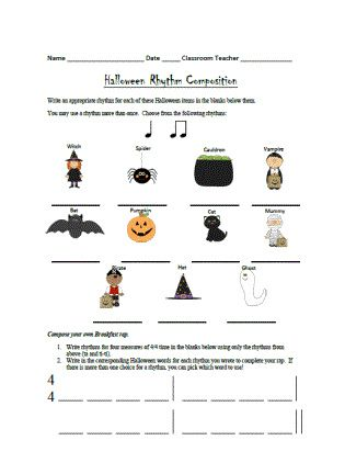 Create music worksheets online