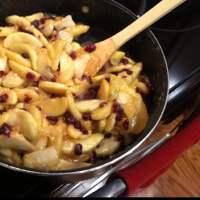 Sautéed apples and craisins! | Fun New Recipes, I might try... | Pint ...