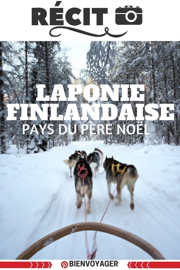 séjour photo en laponie finlandaise #laponie #finlande #hiver #winter #husky #pereNoel