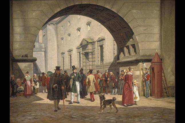 Bag skønmaleriet: Det Kongelige Teater var fuld af slåskampe og fordrukne sømænd | Klassisk | DR