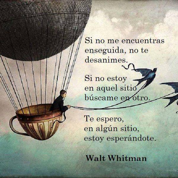 Walt Whitman Frases Diario De Una Pasion Buscar Con Google I