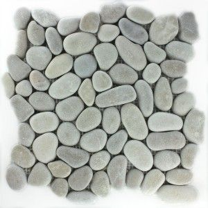 mosaikfliesen flusskiesel tan - Mosaikfliesen Wei