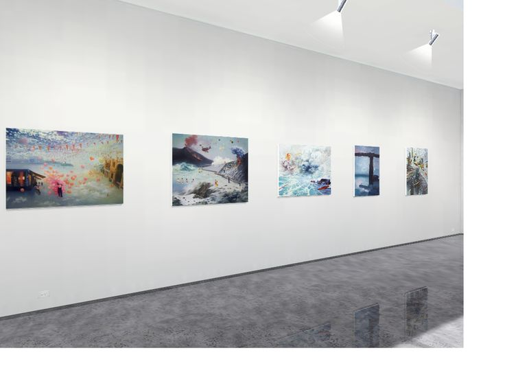 Virtual gallery exhibition.  Immerse in this space with tranquility. Our opening show: Alice (Hye Ryung) Yang: Transcendence | a Solo Exhibition. Love It Art gallery