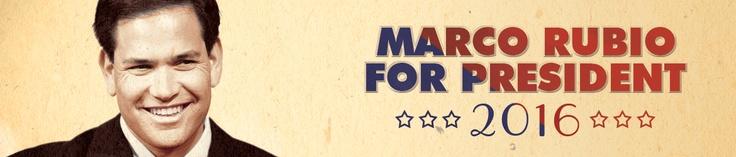 Draft Marco Rubio for President 2016