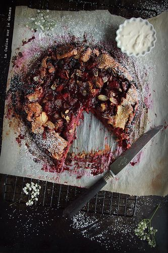 ... galette aux fruits rouges (gluten free) ...