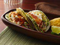 Salsa-Shrimp Tacos recipe from Betty Crocker