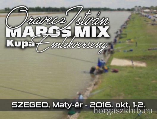 Maros Mix Kupa! Ne maradjon le róla!  http://horgaszklub.eu/cikkek/reszletek/1662_maros_mix_kupa-oravecz_istvan_emlekverseny/
