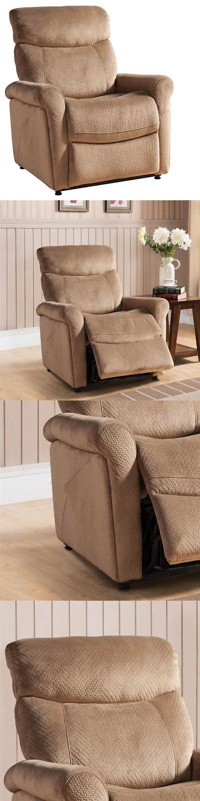 Electric Massage Chairs: Transitional Power Reclining Lift Chair In Brown [Id 3516296] -> BUY IT NOW ONLY: $626.91 on eBay!