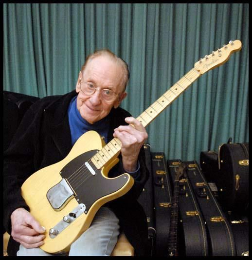 Les owned a '51 NoCaster until he died. It was a gift from Leo, and was delivered by Paul Bigsby. Small guitar world back then. When it was auctioned during his estate sale, it sold for $216K.