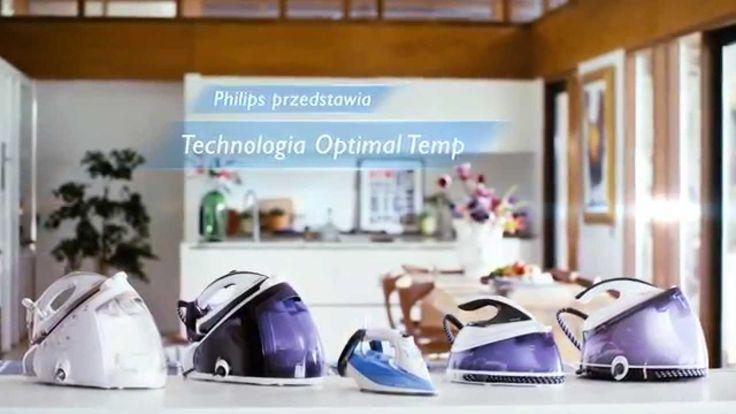 Żelazko z generatorem pary Philips PerfectCare - Nr 1 na świecie!