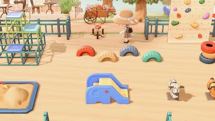 Animal Crossing Qr Codes Playground Floor