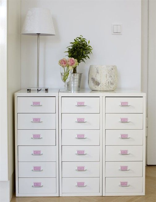 HELMER drawer units from IKEAStorage Solutions, Chic Home, Crafts Room, Crafts Storage, Shoes Storage, Storage Ideas, Offices Storage, Home Offices, Ikea Helmer