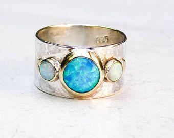 Único anillo de compromiso diamantes de laboratorio por OritNaar