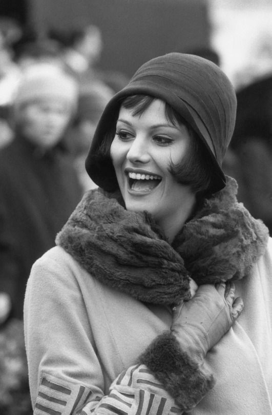 Claudia Cardinale by Marc Riboud, 1961  I got told I look like her, and now I have a big head 😉