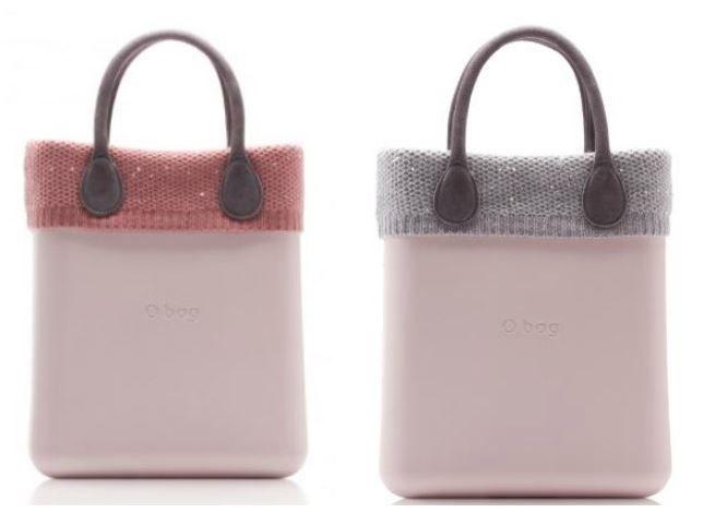 Bordi invernali O Bag O Chic in cachemire con paillettes