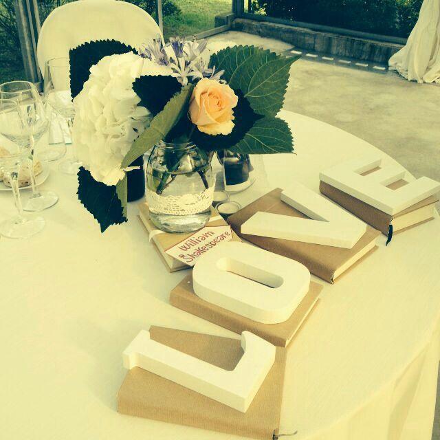 Bride&groom table