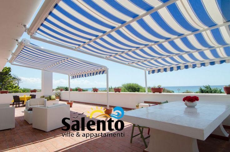 Villa Bellavista primo piano con vista #mare e accesso diretto alla famosa spiaggia di  #PuntaProsciutto di Porto Cesareo.  #MiPiaceilSalento