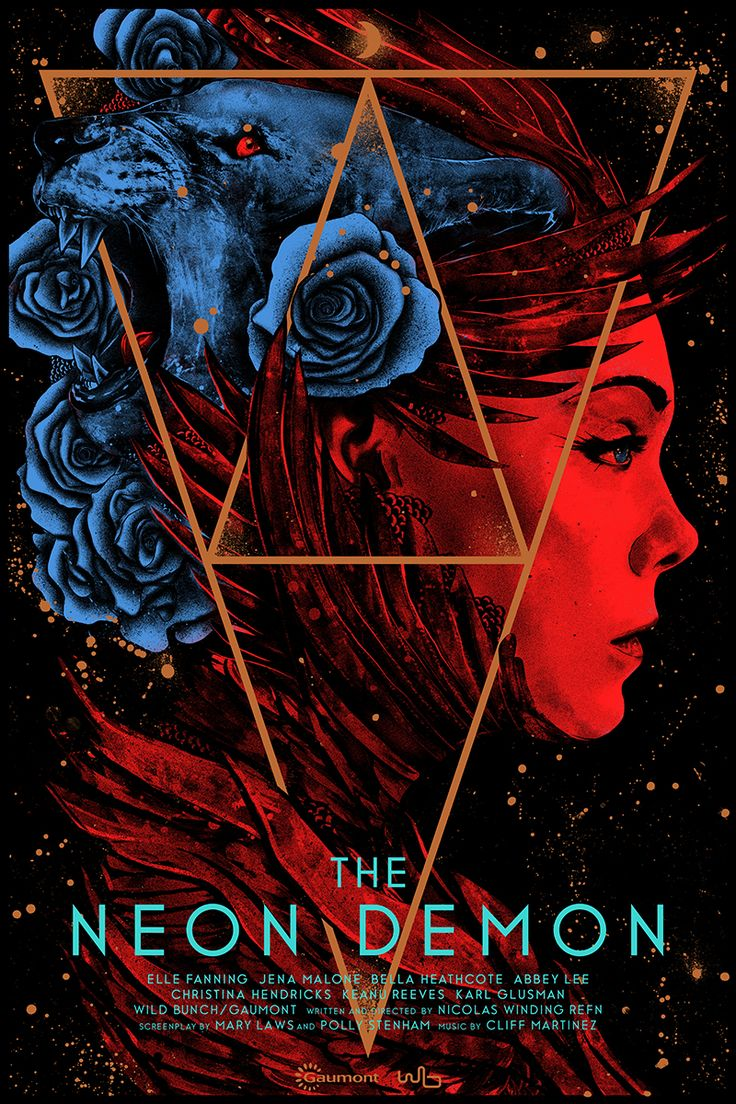 Lovely The Neon Demon by Nikita Kaun Home of the Alternative Movie Poster AMP
