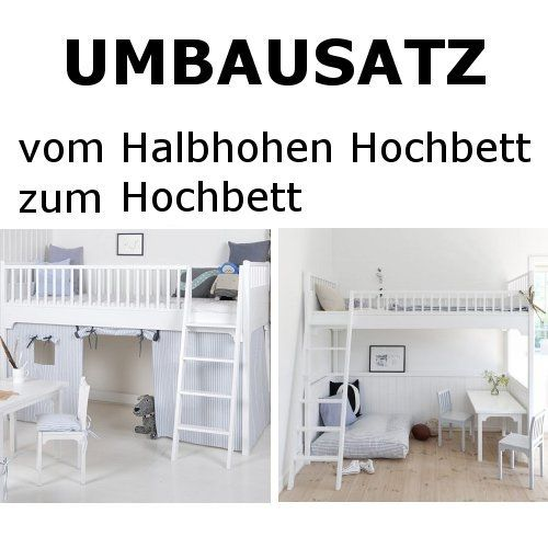 die besten 25 halbhohes hochbett ideen auf pinterest halbhohes kinderbett halbhohes. Black Bedroom Furniture Sets. Home Design Ideas