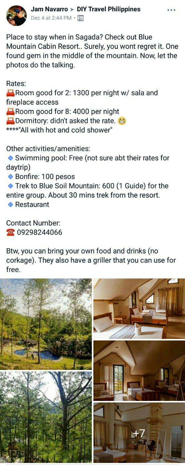 Blue Mountain Cabin Resort Sagada