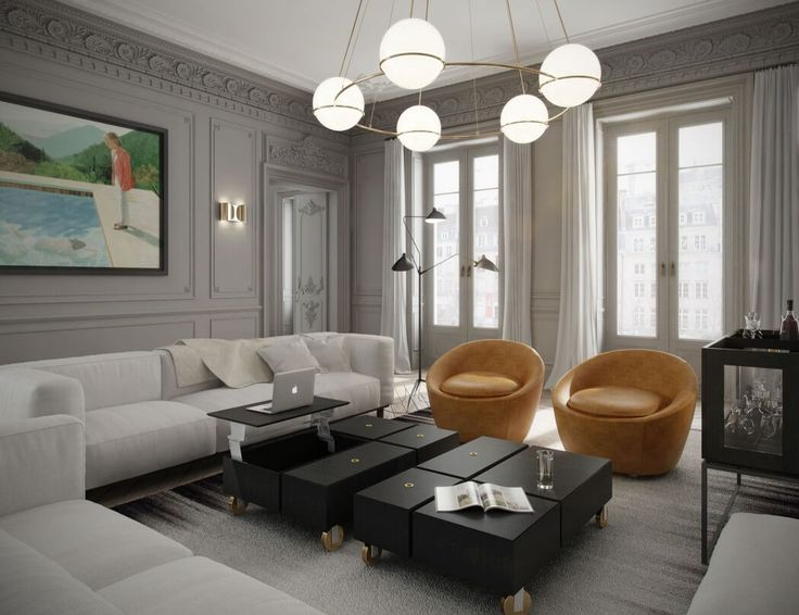246 Best Parisian Chic Apartment Interiors Images On Pinterest