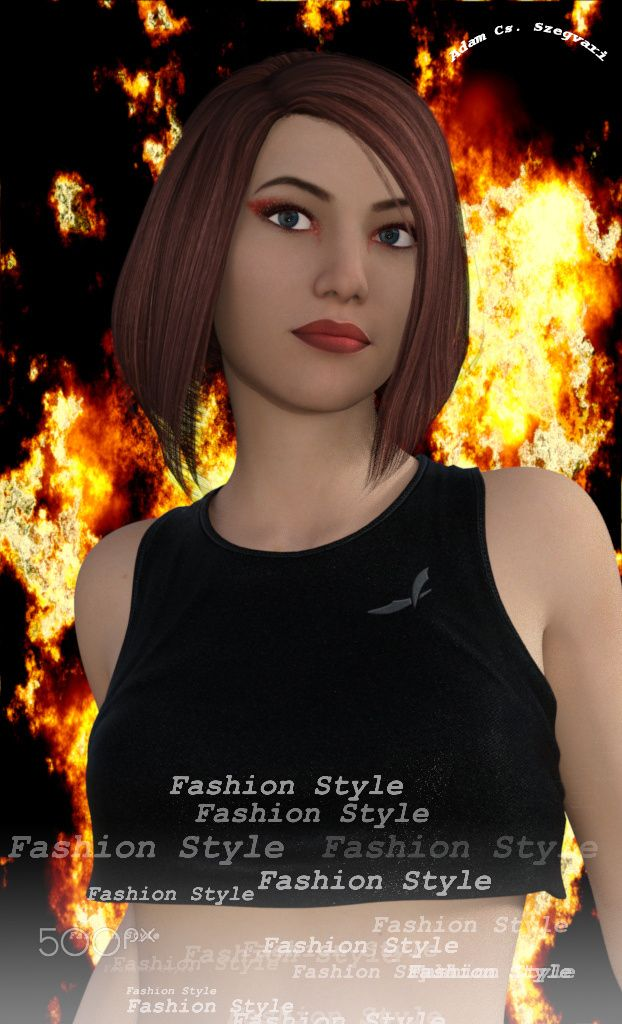 Ms Flame fashion - Visual Artwork: Adam Cs. Szegvari http://aszegvari.com http://facebook.com/szegvari.photography