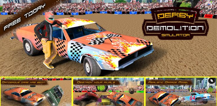 #Chase, smash and #crash into your opponents, it can be dangerous but it's also the most fun to wreck into other #cars ! So Fasten your seat belt and sit tight to win #demolitionderby racing. #DemolitionDerbySimulator - #CarCrashRacing is here to give you the thrilling #adventure of driving, drift and #demolition.  Install now and get ready to #race and destruct your opponents https://play.google.com/store/apps/details?id=com.highflame.demolition.derby.simulator.car.crash.racing