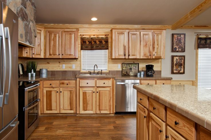 The Beachwood Kitchen Pine Mountain Accents Hickory