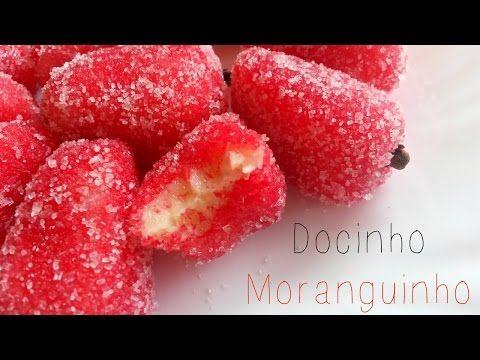 Como fazer Docinho Moranguinho ❤❤❤ Maravilhosoo   Por Rúbia Carolina - YouTube