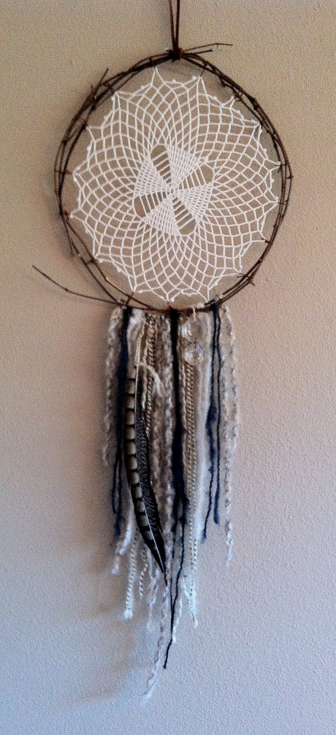How Do Dream Catchers Work 12 Best Vintage Doily Dreamcatchers Images On Pinterest  Dream