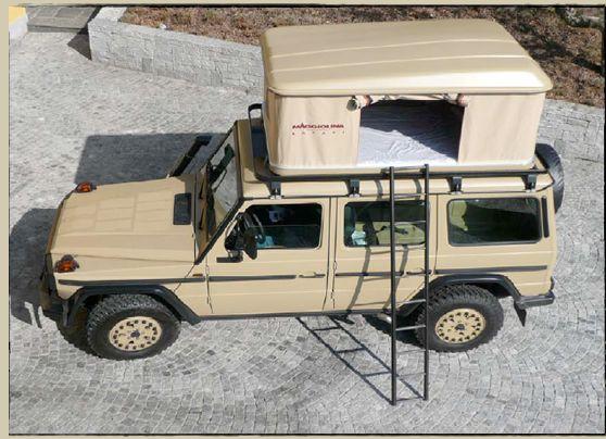 Mercedes G Entdecker Gwagen Mercedes Expeditionsfahrzeug Geländewagen off-road Safari 4x4 Gwagon Expedition Vehicle 461