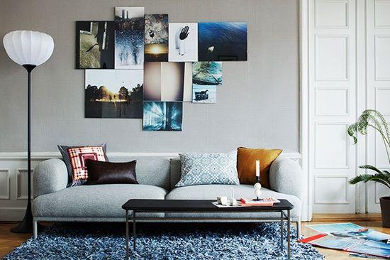 Med sofa som blikkfang, eller... - Hverdagsliv det gode livHverdagsliv det gode liv