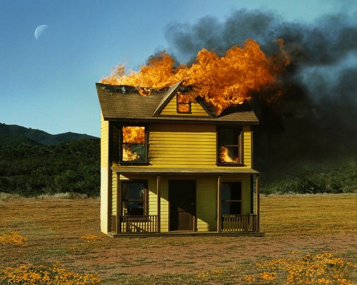 Alex Prager, 4:01 pm, Sun Valley (House Fire), Compulsion, 2012 2012