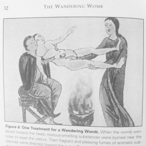 "Treatment for a ""wandering womb"". No wonder there was female hysteria! Pesquisa Google"