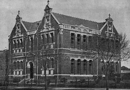 St Mary's Boys School West Melbourne early 1900s