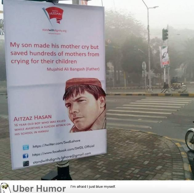 Poster of Aitzaz Hasan spotted in Lahore, Pakistan #funny #lol pic.twitter.com/NYtctvmXSr http://ibeebz.com