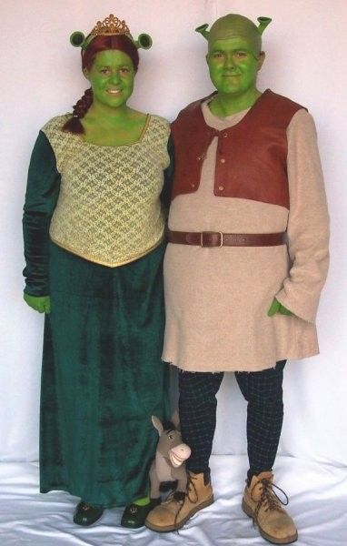 fiona and shrek costumes