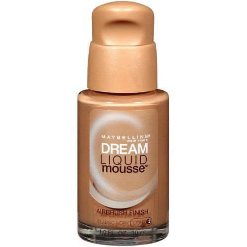 Maybelline Dream Mousse Liquid Foundation Classic Ivory