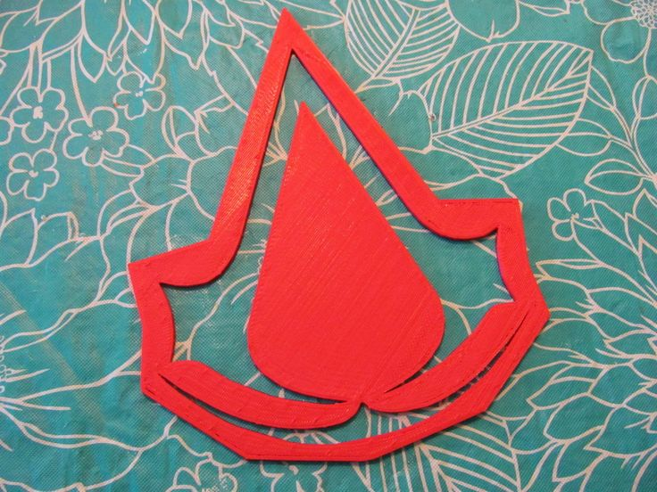 Assassin's Creed Logo Stencil by wjl.