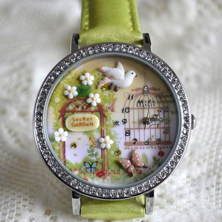 MINI hodinky - Tajemná zahrada