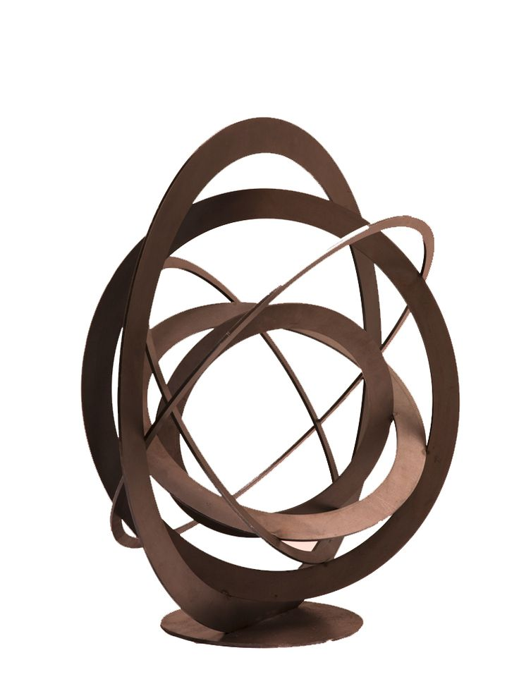 Outdoor Rust Sphere Sculpture By Www Entanglements Com Au