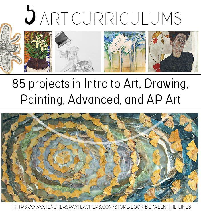 Visual Arts Curriculum: High School Visual Art Curriculum: 5 Art Curriculums For 5