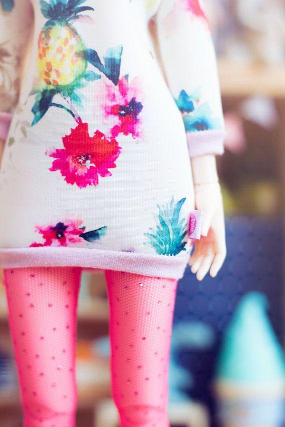 Fruits Dress for MSD size bjd dolls Unoa Minifee by sugardollshop, $20.00
