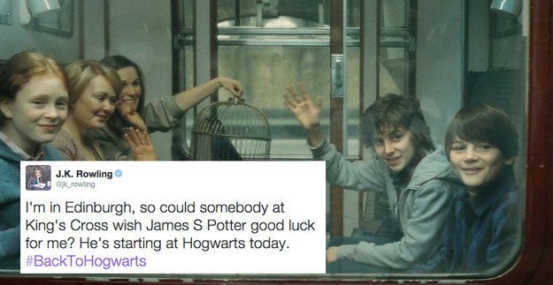 2015 was the year James Sirius Potter started at Hogwarts… | 19 Extremely Important Things J.K. Rowling Taught Us About Harry Potter