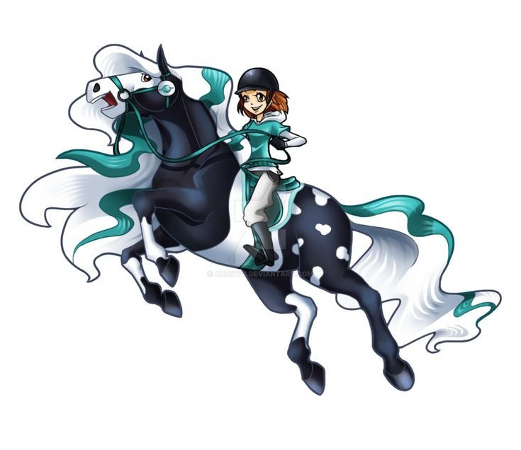 Картинки из мультика лошадки