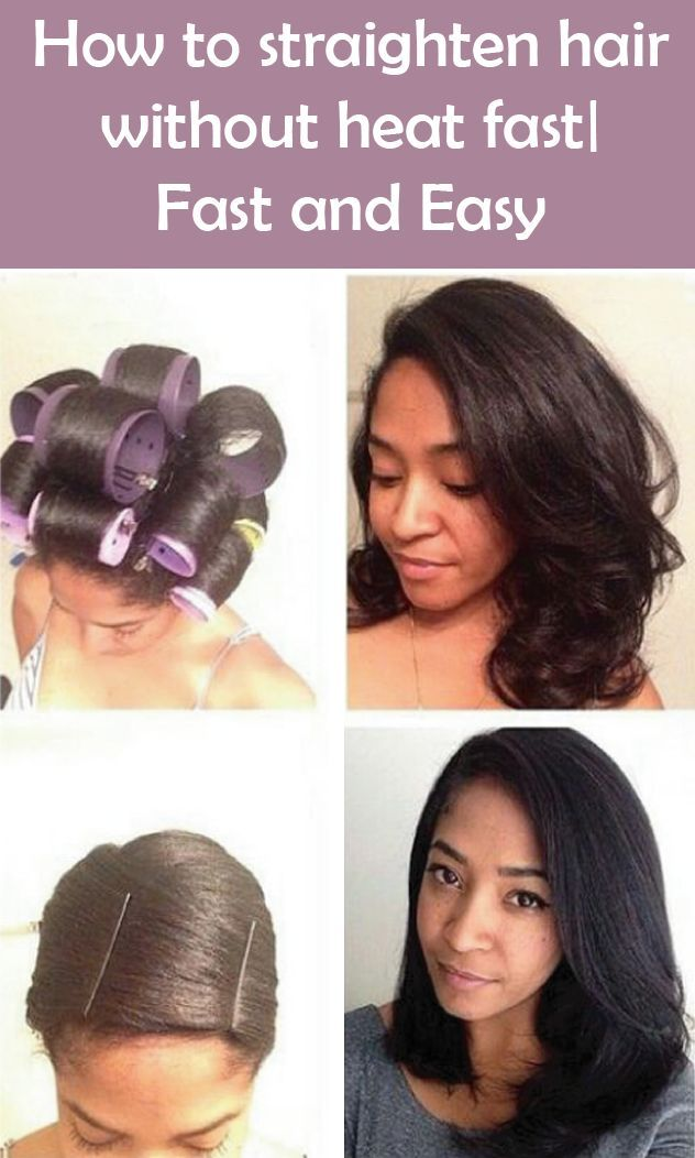 25+ best ideas about Straighten hair without heat on ...