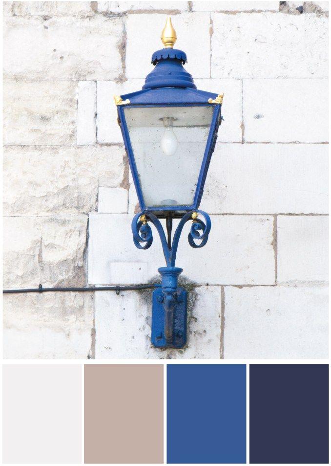 Farbpalette Beige blau - Tweed & Greet
